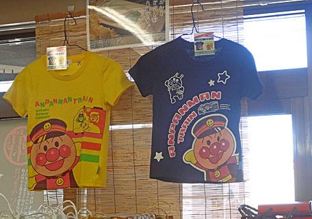 アンパンマントレインTシャツ