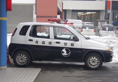 白鳥パトカー