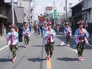 小鹿野春祭り